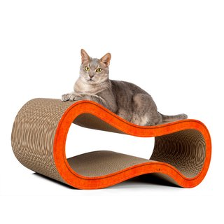 cat-on Kratzmöbel Singha L orange (004f)